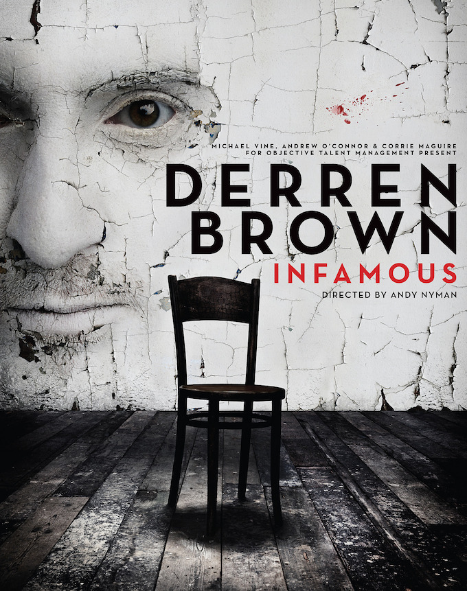 Derren Brown's Infamous show coming to Dublin March 2014
