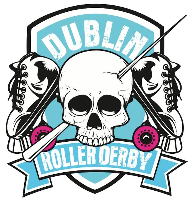Dublin Roller Derby logo