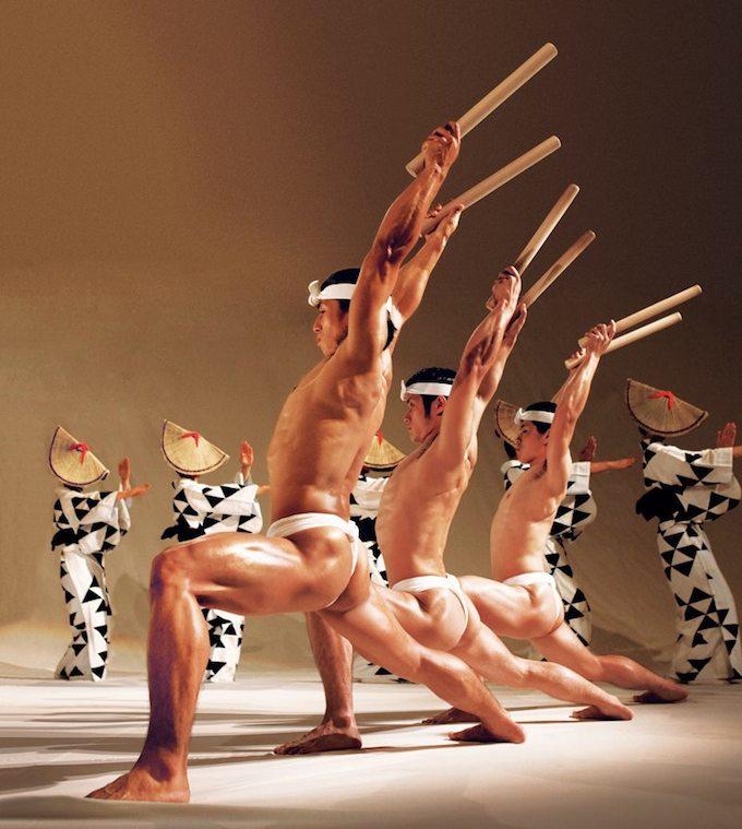 Kodo drummers and dancers
