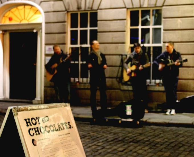 Verona Riots performing in Temple Bar