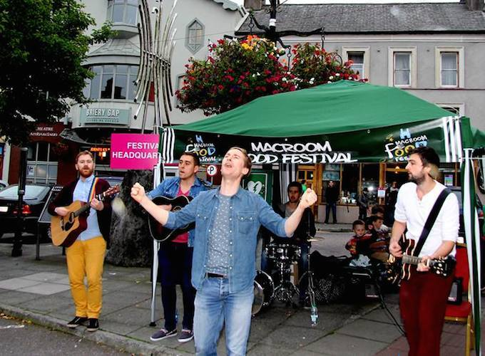 Verona Riots performing in Macroom