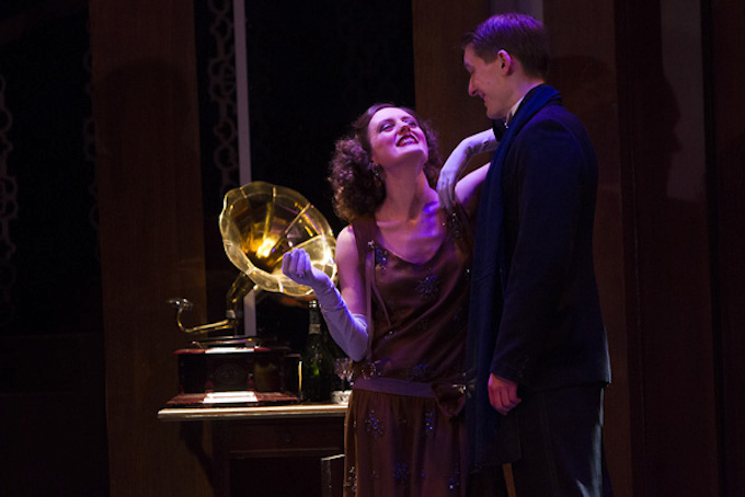 Rebecca O'Mara and Rory Fleck Byrne in The Vortex at the Gate Theatre