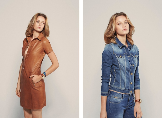 SS14 collection by Massimo Dutti, photos by Mario Testino