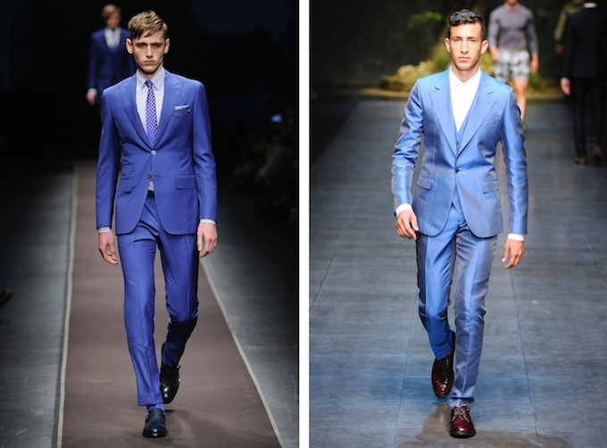 Blue is the hue for men at Brown Thomas this season