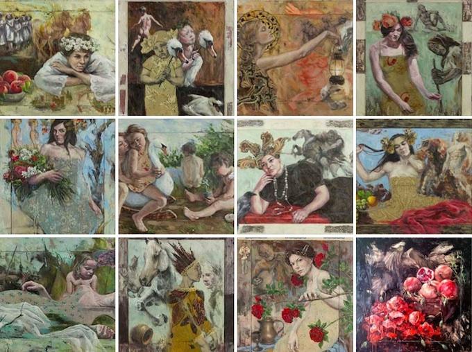 Iwona Nartowska O'Reilly - Celtic Legends artworks
