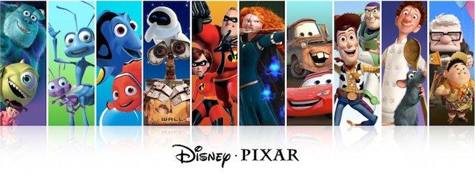 Pixar Animation Studios banner