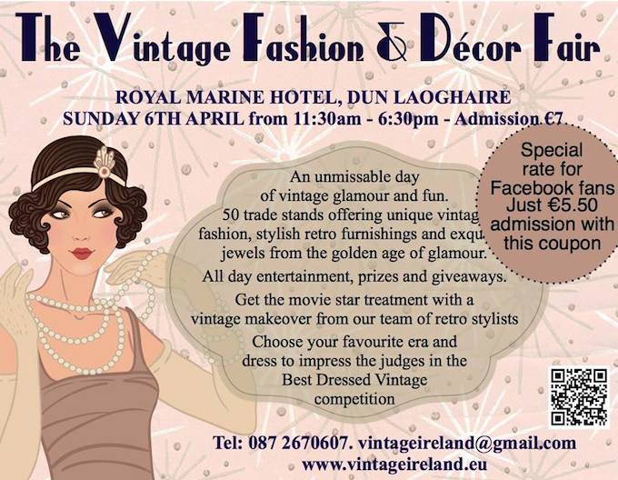The Vintage Fashion & Décor Fair in Dun Laoghaire