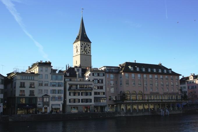 St. Peter's Church in Zurich
