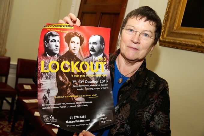 Ann Mathews and her play 1913 Lockout