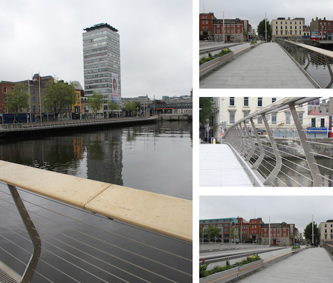 Rosie Hackett Bridge in Dublin