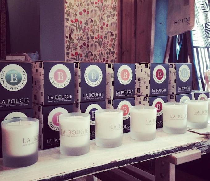 La Bougie candles available at Scout Dublin