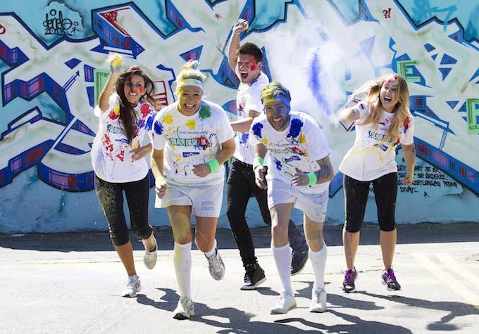 Colour Dash press launch 2014