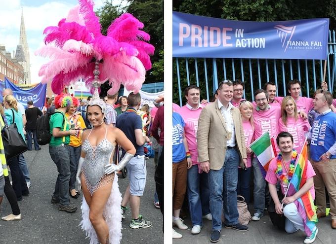 Dublin Pride Parade attendees 2014