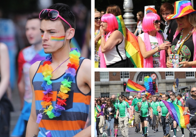 Dublin Pride Parade 2014 at Merrion Square