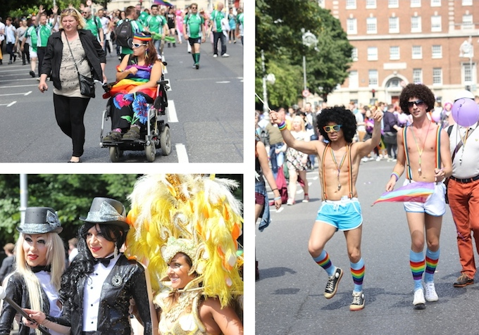 All the fun of the parade at Dublin Pride 2014