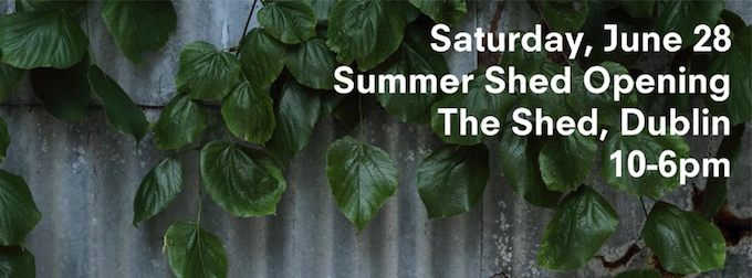 Makers & Brothers Shed open this Saturday
