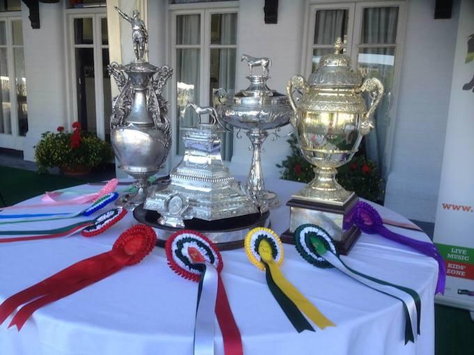 Dublin Horse Show trophies