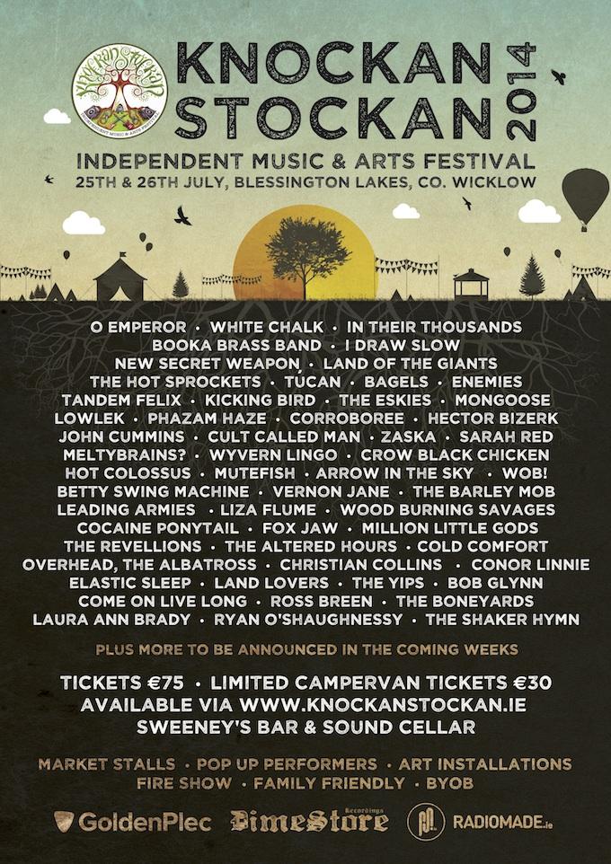 KnockanStockan Festival lineup 2014