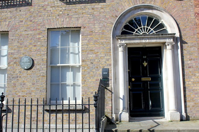 WB Yeats house on Merrion Square in Dublin
