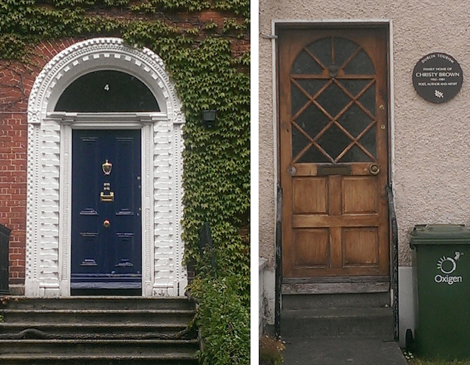 Doors in Rathgar and Kimmage in Dublin