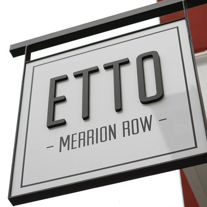 Etto in Merrion Row in Dublin