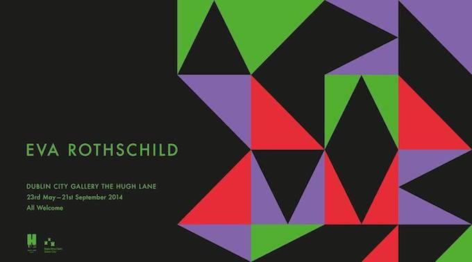 Eva Rothschild exhibition at the Hugh Lane