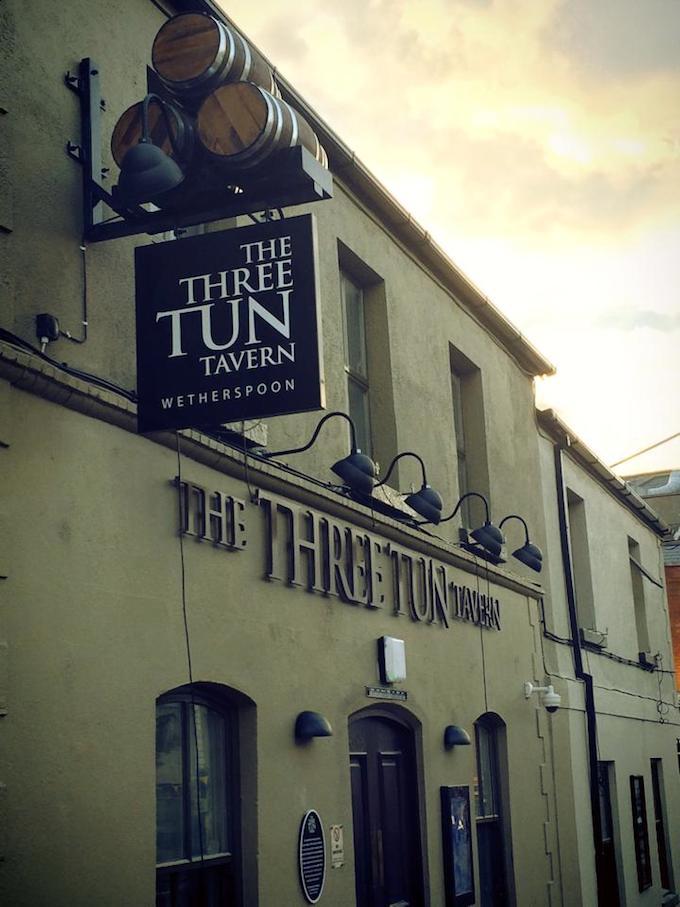 The Three Tun Tavern in Balckrock