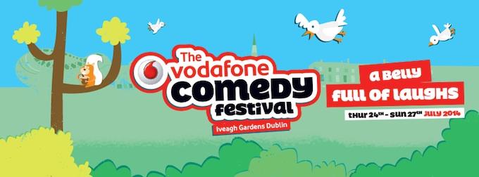 Vodafone Comedy Festival 2014 in Dublin