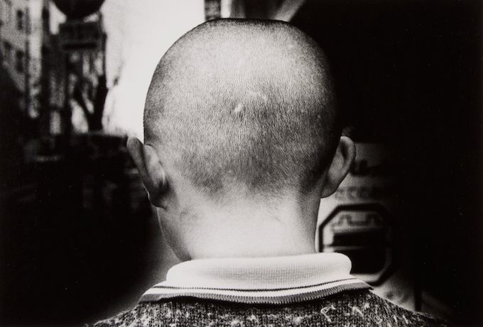 Daido Moriyama Back of Head