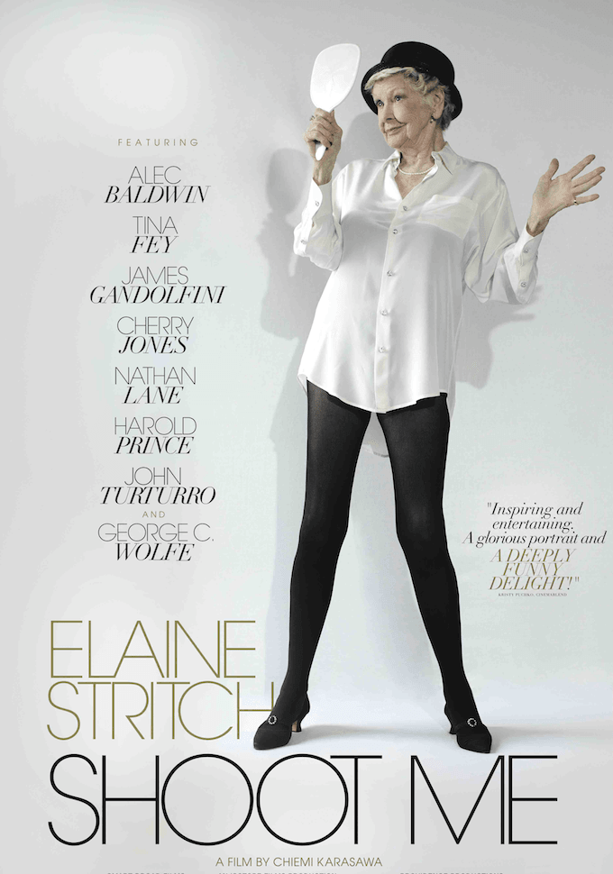 Elaine Stritch Shoot Me Poster