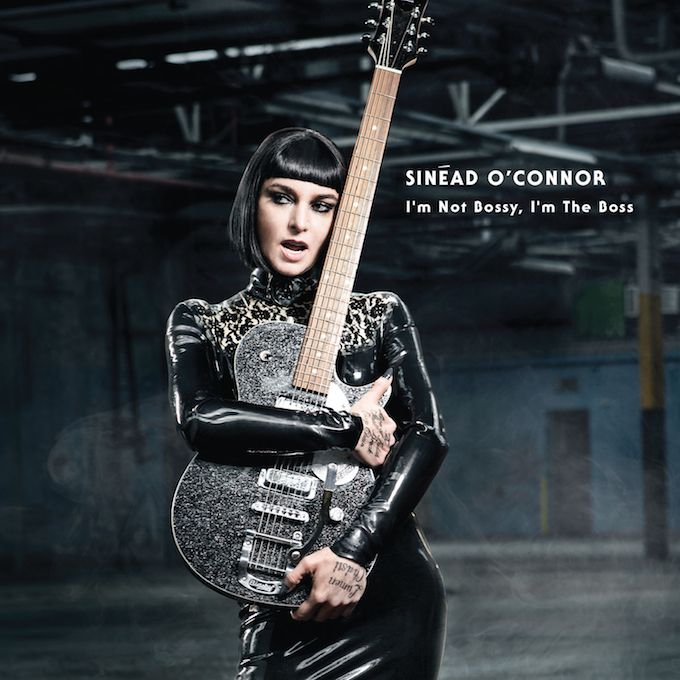 Sinéad O'Connor new album cover