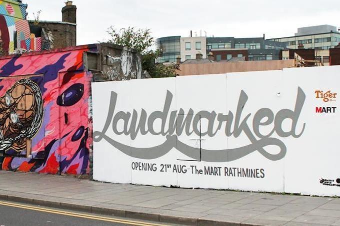 Landmarked exhibition in Dublin