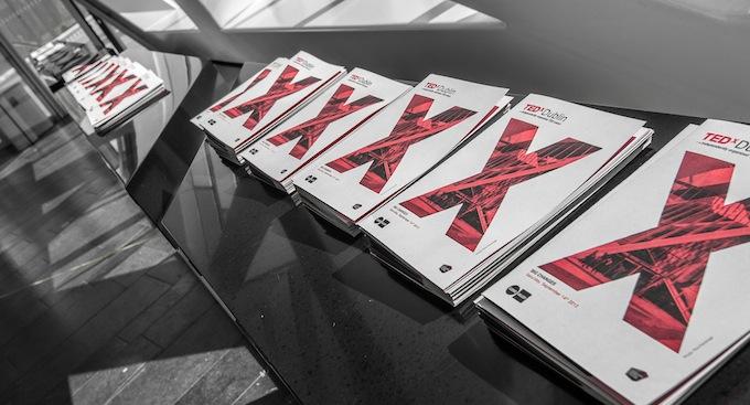 TEDxDublin 2013 brochures