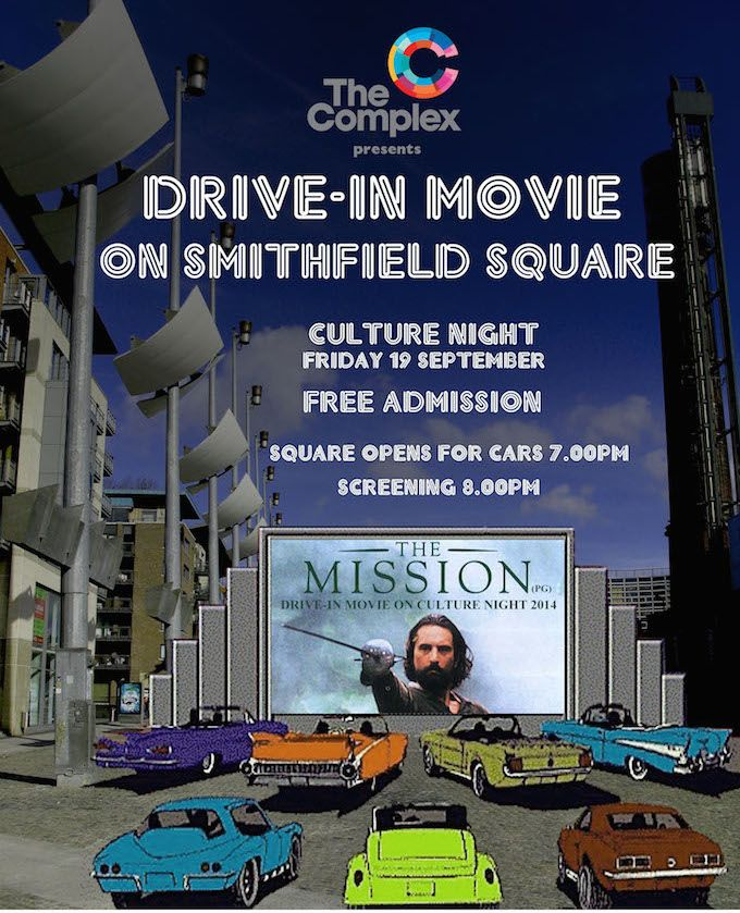 The Mission - Drive-In Movie at Smithfield 2014