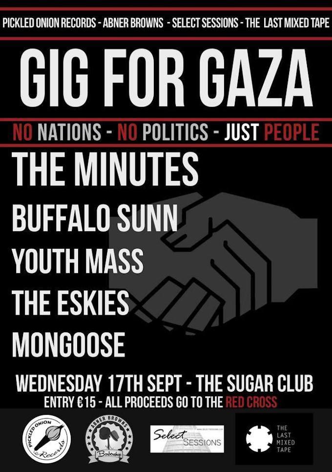 Gig for Gaza in Dublin