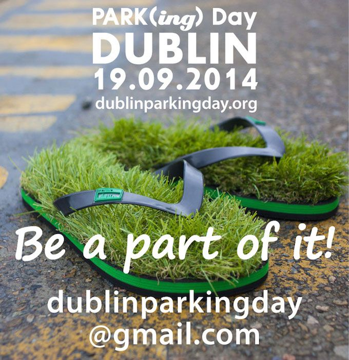 Park)ing) Day Dublin 2014
