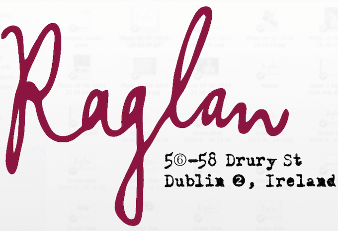 Raglan in Dublin