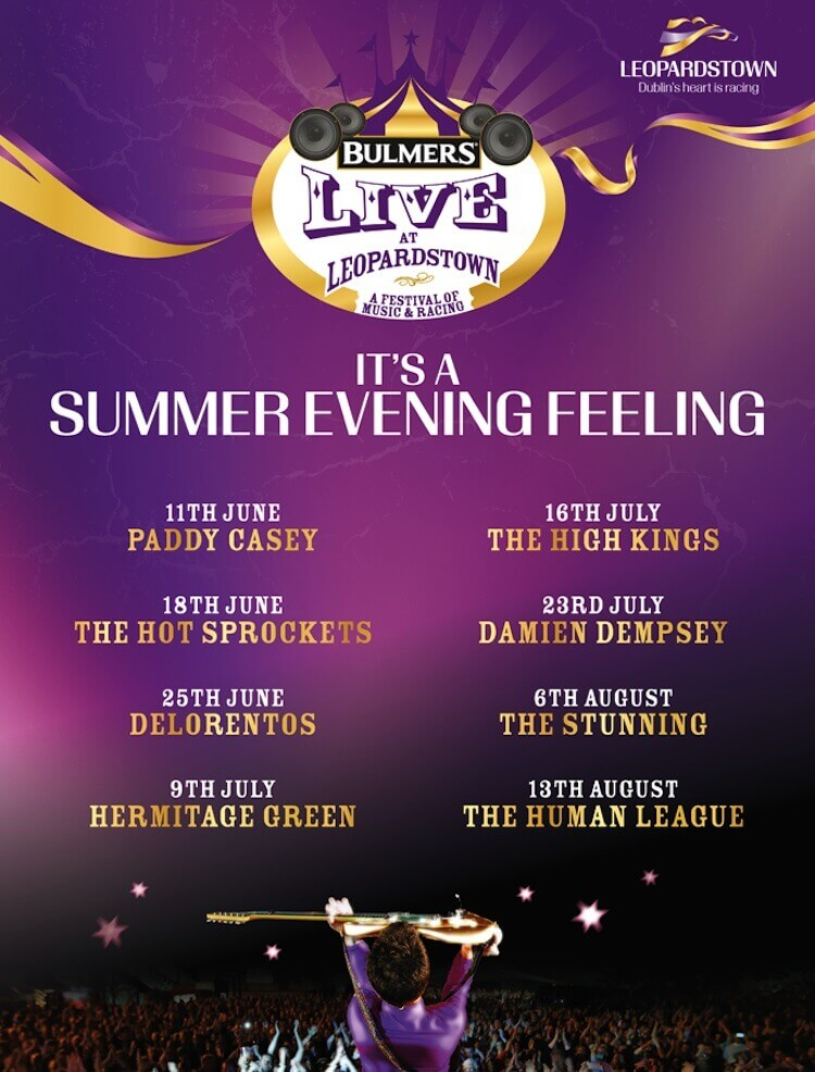 bulmers live at leopardstown 2015