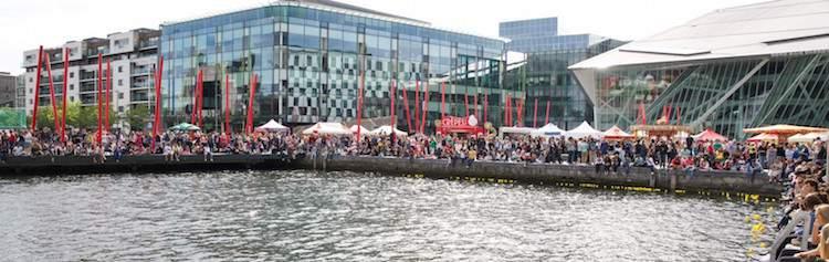 Dublin Docklands Summer Festival at Grand Canal Dock