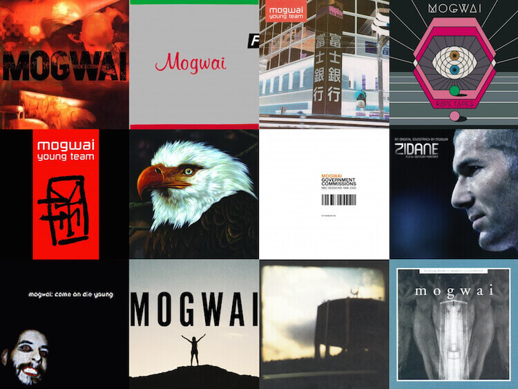 mogwai album covers