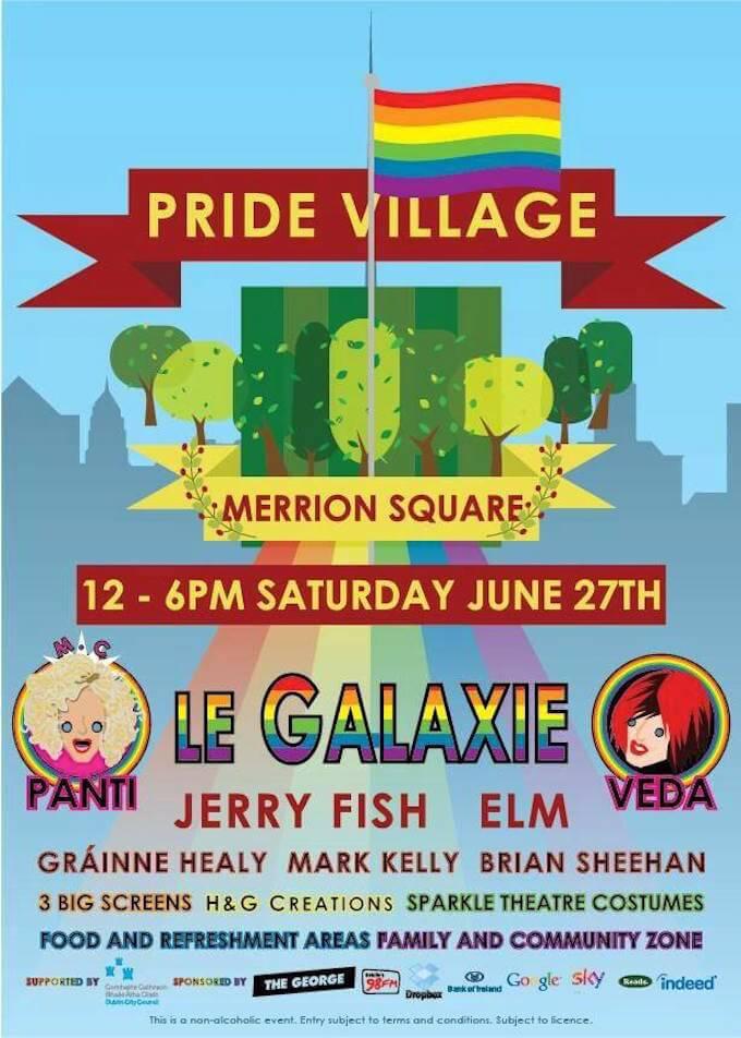 dublin pride village poster 2015