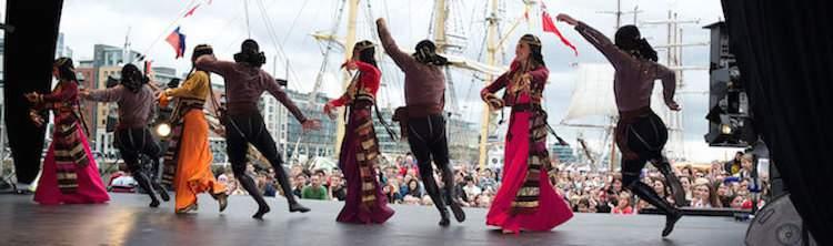 riverfest dancing in dublin
