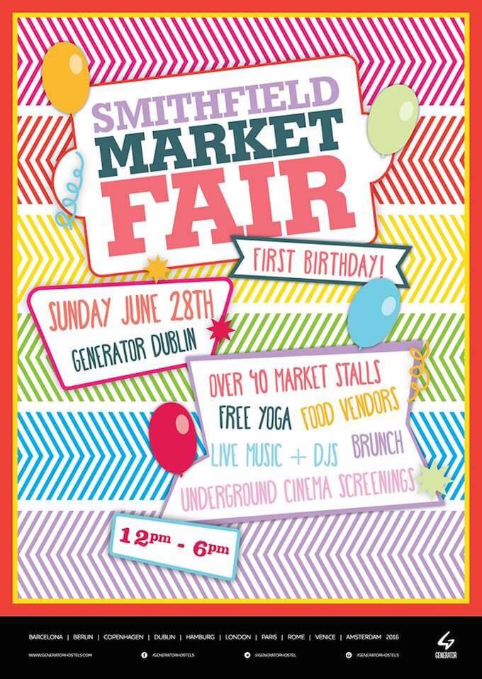 smithfield market fair in dublin