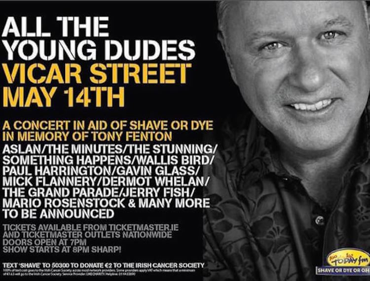 All the Young Dudes for Tony Fenton
