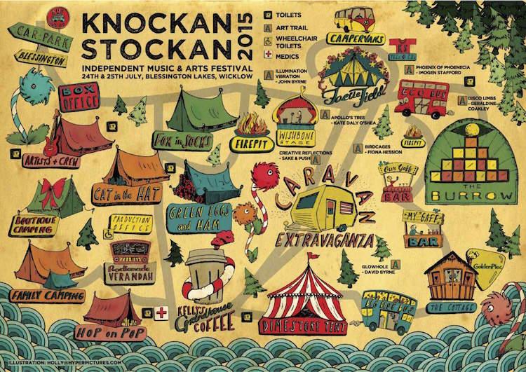 Knockanstackan 2015 Map