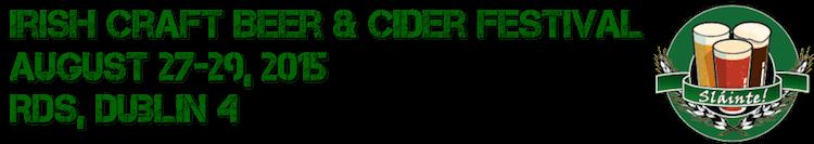 Irish Craft Beer & Cider Fest 2015