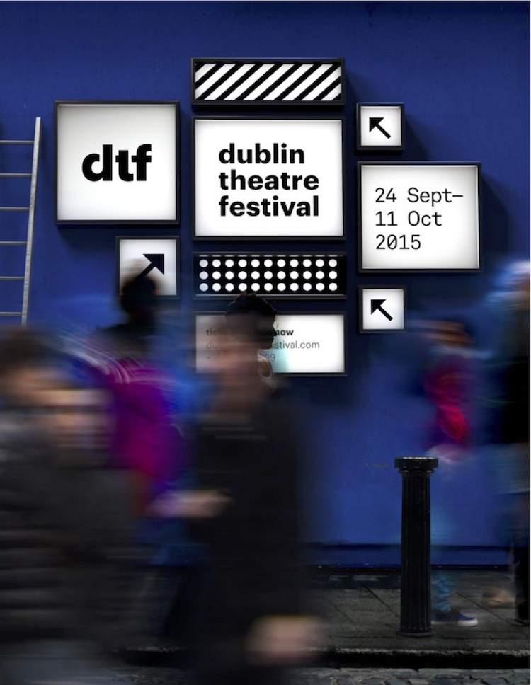 Dublin Theatre Festival 2015 poster