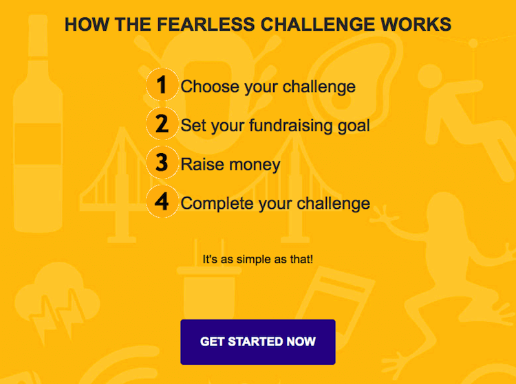 Irish Cancer Society Fearless Challenge - how to get involved