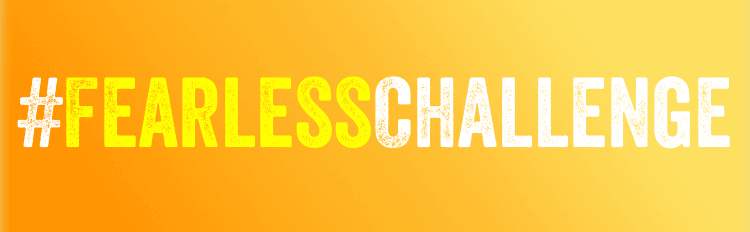 Fearless Challenge hashtag