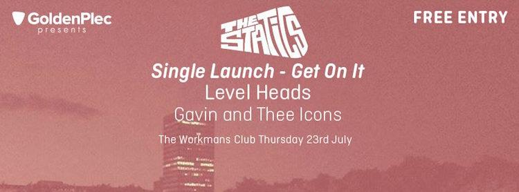 Goldenbeck Statics single launch Dublin